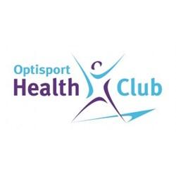 Optisport Health Club logo print