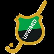A.M.H.C. Upward logo print