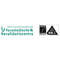 Fysiotherapie van Loo & Veerhoek logo print