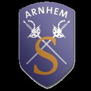 A.S. Scaramouche logo print