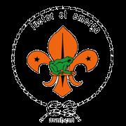 B.E. Scoutinggroep Luctor et Emergo logo print