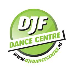DJF Dance Centre logo print