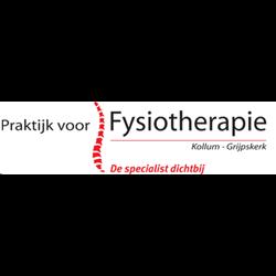Praktijk voor Fysiotherapie Kollum-Grijpskerk logo print