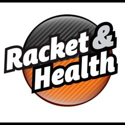 Racket & Health Wolvega logo print