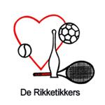 """Logo Sport-en spelgroep """"de Rikketikkers"""""""