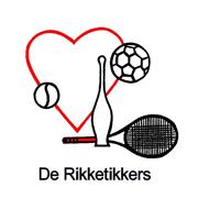 """Sport-en spelgroep """"de Rikketikkers"""" logo print"""