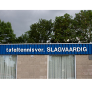 T.T.V. Slagvaardig logo print