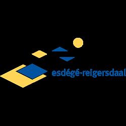 Esdege-Reigersdaal logo print