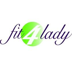 Fit 4 Lady logo print