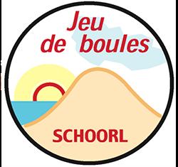 Jeu de Boules Schoorl logo print