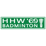 Logo Badmintonvereniging HHW'69