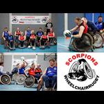 Logo The Scorpions Wheelchair Rugby Club Utrecht (WRCU)
