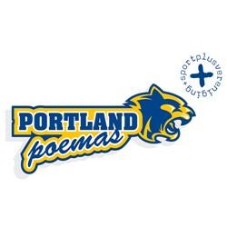 Portland Poema's logo print