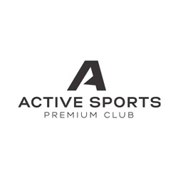 Active Sports Premium Club logo print