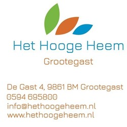 Seniorensport in Het Hooge Heem logo print