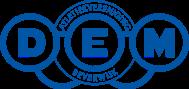 Atletiekvereniging DEM Beverwijk  logo print