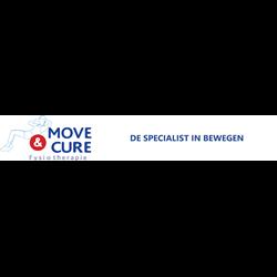 Move & Cure logo print