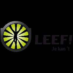 LEEF! logo print