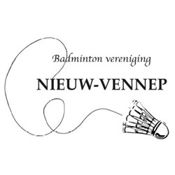 Badmintonvereniging Nieuw Vennep logo print