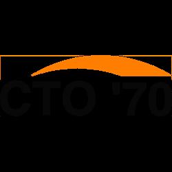 CTO'70 logo print