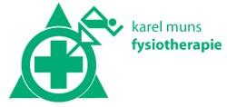 Karel Muns fysiotherapie logo print