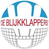 Badmintonvereniging De Blijkklappers logo print