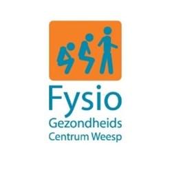 Fysio GezondheidsCentrum Weesp logo print