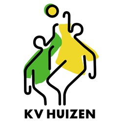 KV Huizen logo print