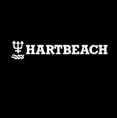 Golfsurfschool Hart Beach logo print
