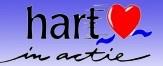 Hart in Actie logo print