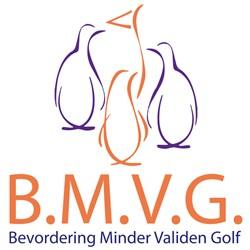 Bevordering Minder Validen Golf (BMVG) logo print