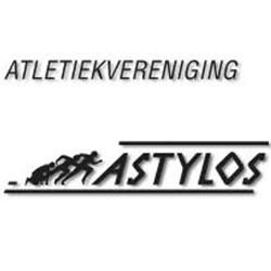 Atletiek en wandelsport vereniging Astylos logo print