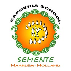 Capoeira School Semente logo print