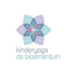Kinderyoga de Bloementuin logo print