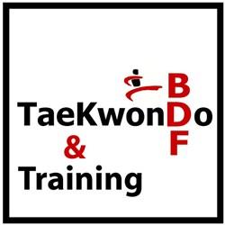 BDF Taekwondo logo print