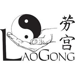LaoGong  logo print