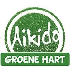 Aikido Groene Hart logo print