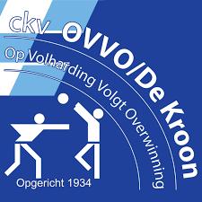 Korfbalvereniging OVVO - De Kroon logo print
