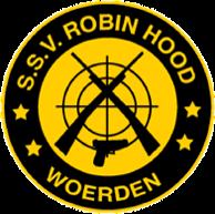 Schietsportvereniging Robin Hood logo print