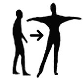 Beter Bewegen met Yael logo print