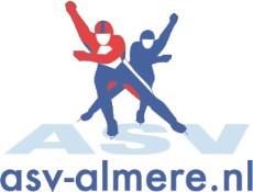 Almeerse schaatsvereniging logo print