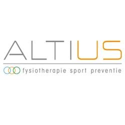 Altius Fysiotherapie logo print