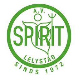 A.V. Spirit logo print