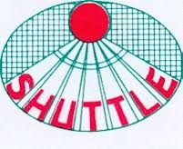 B.C. Shuttle logo print