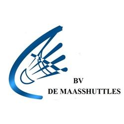 Badmintonvereniging Maasshuttles logo print