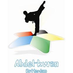 Abdel-Kwan Rotterdam logo print