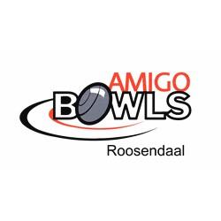 I.O.B.V. Amigo Bowls Roosendaal logo print