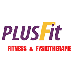 PlusFit fitness & fysiotherapie  logo print