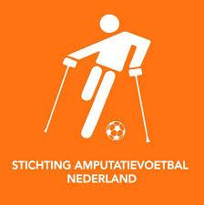Amputatievoetbal Nederland  logo print