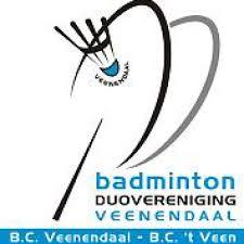 Badminton Duovereniging Veenendaal logo print